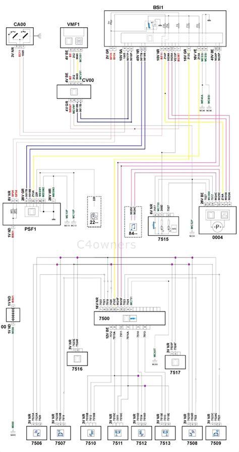 citroen xsara picasso radio wiring diagram efcaviation