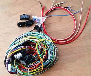 Universal 24 Circuit Wire Harness Muscle Car Hot Rod