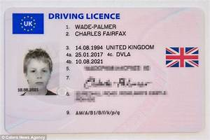 DVLA give motorist licence using photo from when he was 11 ...