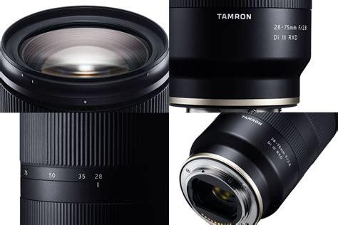 tamron 28 75mm f2 8 di iii rxd e mount lens info