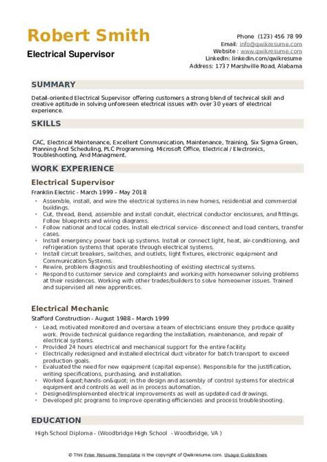 Summary For Resume Examples Manufacturing