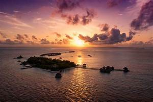 Sunset Parasailing in the Maldives The Human Drone