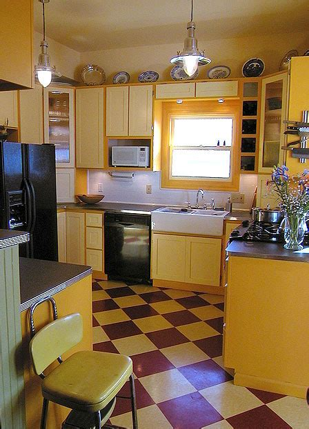 great kitchen design ideas  retro style