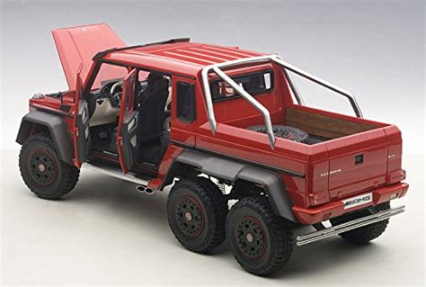 The 6x6 is a development of the military version built for the australian military. Mercedes G63 AMG 6X6 Red 1/18 by Autoart 76304 - Buy Online in United Arab Ermiates. | Toys And ...