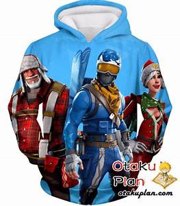 Fortnite Hoodie Alpine Ace And Christmas Skin Promo