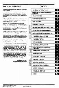Cbr 150 Parts Manual