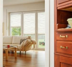 Schöne Vorhänge Wohnzimmer : sch ne plissees f r s wohnzimmer modern wohnzimmer berlin von ~ Markanthonyermac.com Haus und Dekorationen