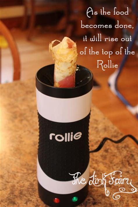 cuisine r馗up rolling it up with the rollie eggmaster jet setting