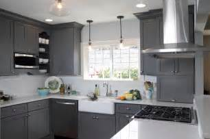 Dura Faucets by Kitchen Fun With Storm Gray Transitional Kitchen