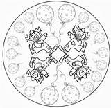 Mandala Circus Clown Coloring Mandalas Kleurplaten Clowns Crafts El Projecte P3 Carnival Niños Picasa Para Web Spinner Plastique Colors Cirque sketch template