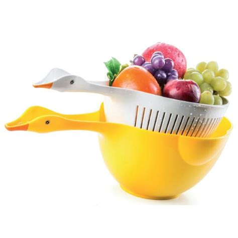 Cool Product Alert Duck Shaped Colander Set by 21 Best Images About Unique Kitchen Dining Products On