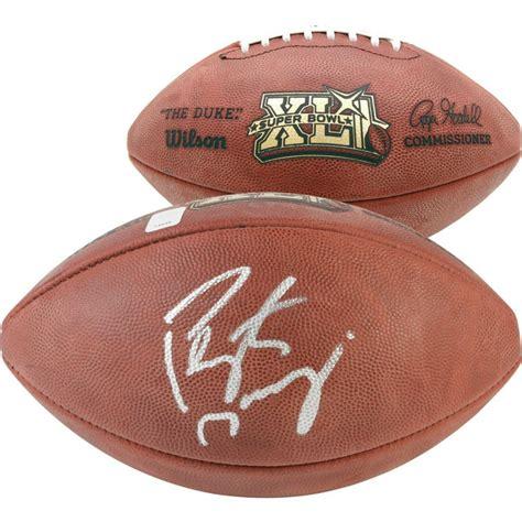 Peyton Manning Signed The Duke Super Bowl Xli Logo