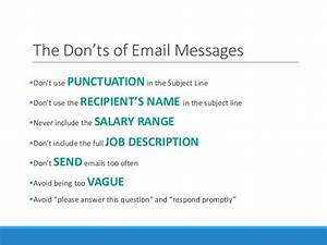 do's and don ts in resume