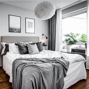 Deko Bilder Schlafzimmer : wundersch nes schlafzimmer in grau home sweet home pinterest schlafzimmer grau und ~ Sanjose-hotels-ca.com Haus und Dekorationen