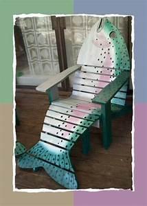 Adirondack Fish Chairs on Pinterest Adirondack Chairs