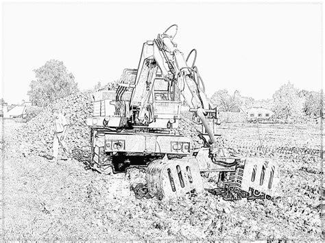 Kleurplaat Machines Landbouw by Nouveau Coloriage Travaux A Imprimer Imprimer Et Obtenir