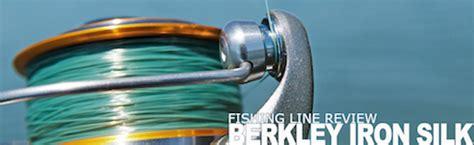 berkley iron silk fishing  product review pure fishing
