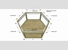 Free DIY Furniture Plans How to Build a Hex Wood