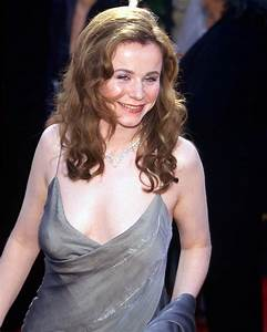 EMILY WATSON BUSTY IN GLAMOUROUS DRESS COLOR PHOTO OR