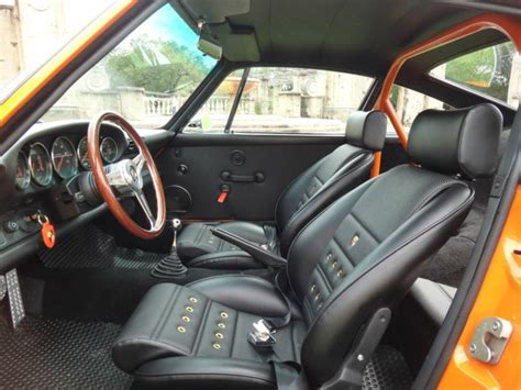 vintage porsche interior our seats in a porsche 964 classic car seats by gts