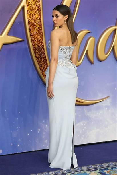 Naomi Scott Aladdin Premiere London Gotceleb