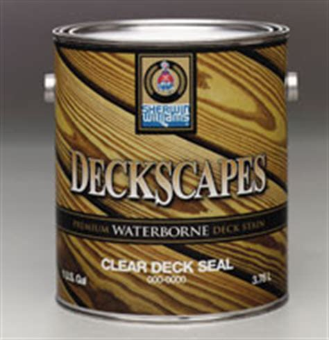 sherwin williams deckscapes clear deck sealer home