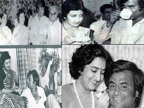 rajinikanth latha wedding anniversary rare pictures