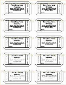3 printable raffle ticket template teknoswitch With template for raffle tickets to print