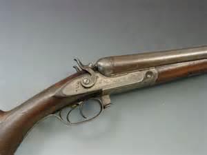 Old Parker Double Barrel Shotgun