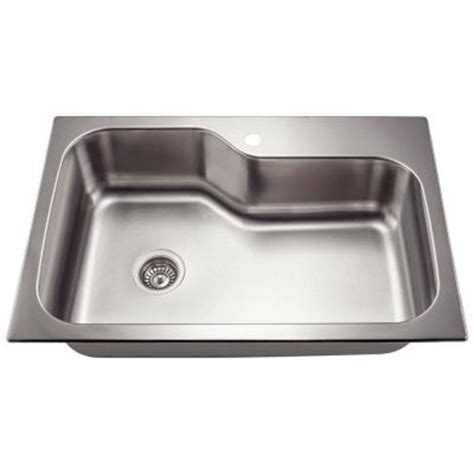 Home Depot Stainless Bar Sink by Polaris Sinks Dualmount Stainless Steel 33 In 1