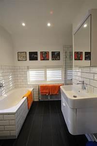 salle bains carrelage metro With carrelage salle de bain metro