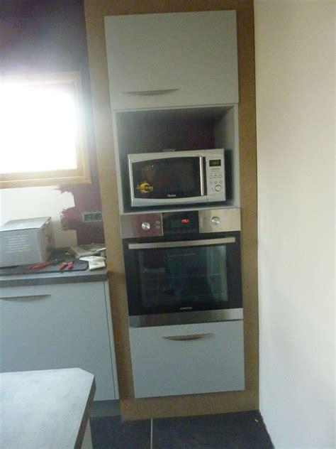 meuble cuisine plaque et four meuble pour plaque de cuisson et four encastrable wasuk