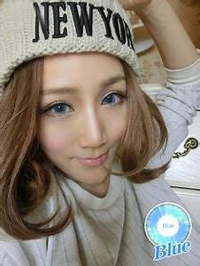 Soft Cosmetic Colored Contact Lenses Neon Colour Fairy
