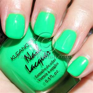 Kleancolor Neon Green Vampy Varnish