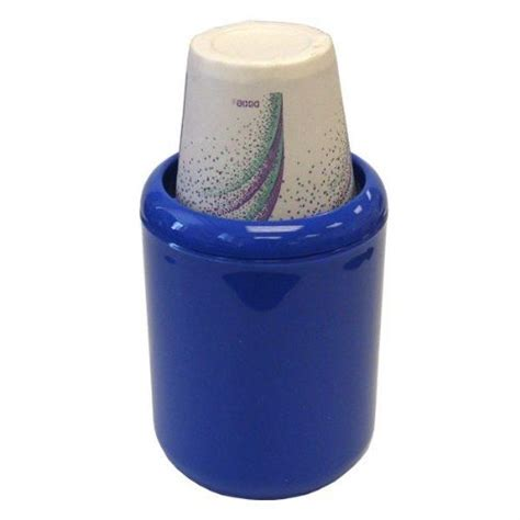 96 Units Of Dixie Bathroom Cup Dispenser Caribbean Blue