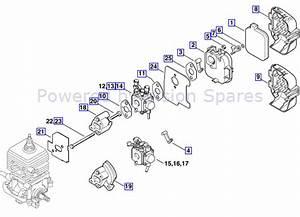 Wiring Diagram Database  Stihl Bg85 Blower Parts Diagram