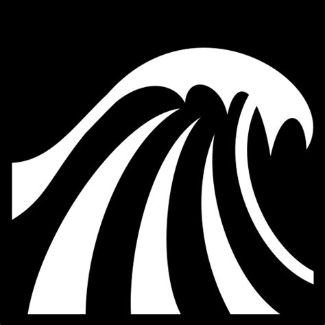 big wave icon game iconsnet