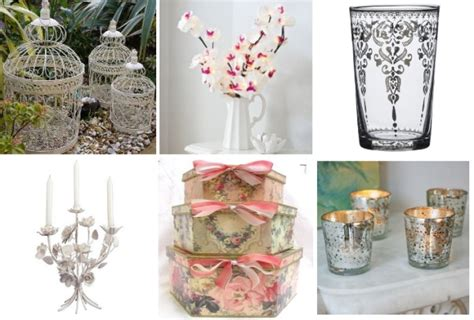 shabby chic accessories french shabby chic style part 2 table decoration