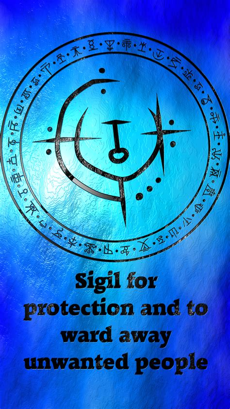sigil for protection and to ward away sigil request are sigil suggestions are