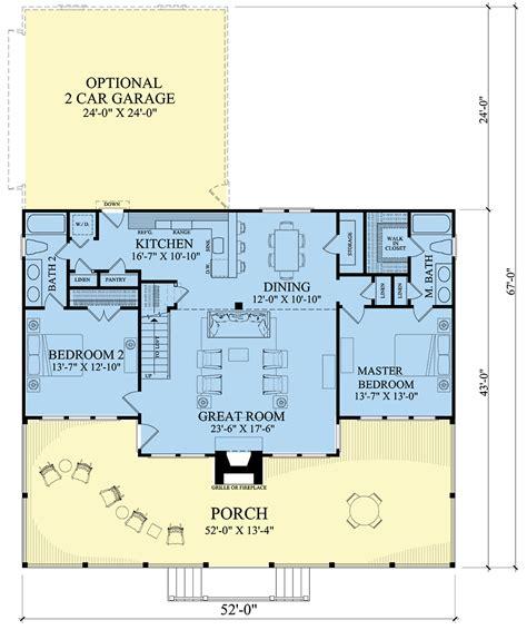 House Plans 2 Bedroom 2 Bath Atcsagacity com