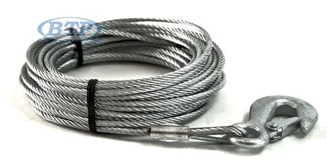 Galvanized Boat Winch by Boat Trailer Winch Cable Galvanized 3 16 Inch X 50 Foot
