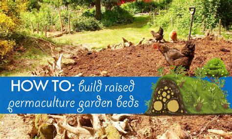 diy hugelkultur   build raised permaculture garden