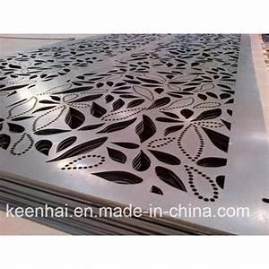 Panneau Perforé Décoratif : panneau perfor en m tal de fa ade d 39 aluminium d coratif ~ Preciouscoupons.com Idées de Décoration