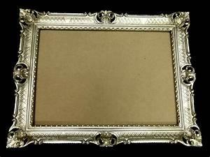 Bilderrahmen Antik Silber : bilderrahmen jugendstil antik silber rechteckig 90x70 barock 70x50 mit r ckwand ebay ~ Frokenaadalensverden.com Haus und Dekorationen
