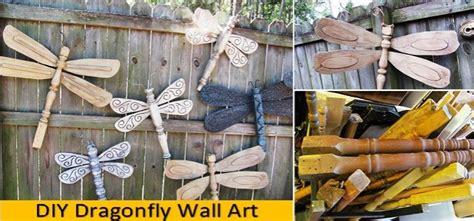 diy dragonfly wall art home design garden