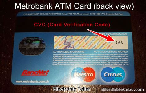 We did not find results for: Example of CVC of Metrobank ATM Card - Banking 31052