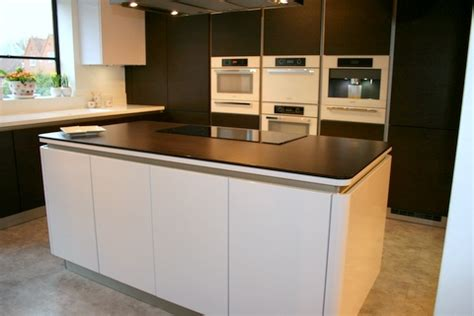 ex display kitchen islands ex display white high gloss and oak maroon schuller