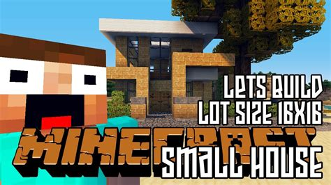 minecraft lets build hd small house  lot