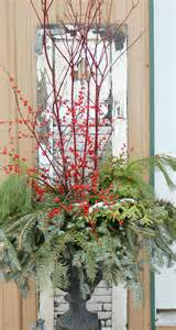 311 best outdoor holiday planters images on pinterest christmas planters christmas urns and