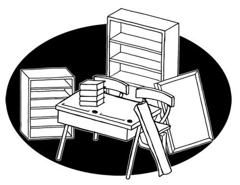 dessin bureau image de mobilier en dessin